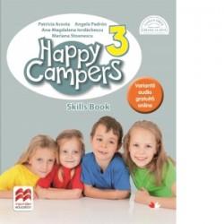 Happy Campers. Skills Book. Clasa a III-a - Patricia Acosta, Mariana Stoenescu, Ana-Magdalena Iordachescu, Angela Padron
