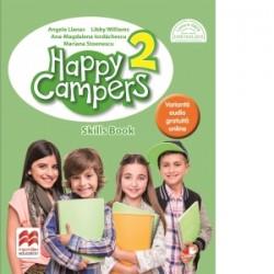 Happy Campers. Skills Book. Clasa a II-a - Mariana Stoenescu, Angela Llanas, Libby Williams, Ana-Magdalena Iordachescu