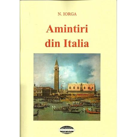 Amintiri din Italia - Nicolae Iorga