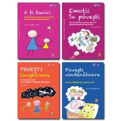 Pachet Parenting 1 - Povesti educative/terapeutice (4 carti) - G. Honegger Fresco, V. Arlati, C. Valentinotti, M. Sala