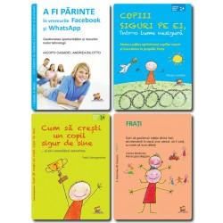 Pachet Parenting 2 - Educatia copilului (4 carti) - N. Laniado,A. Mastroleo,P. Santagostino,I. Casadei, A.Bilotto,M. Mazzoni