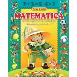 Matematica. Primii pasi in lumea cifrelor - Petru Ghetoi