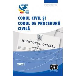 Codul civil și codul de procedură civilă. Ediția aprilie 2021