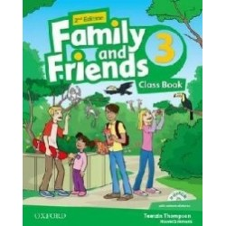 Family and Friends: Level 3: Class Book and multiROM Pack (2nd edition) - Naomi Simmons, Tamzin Thompson