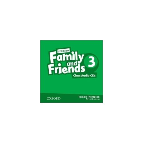 Family and Friends: Level 3: Class Audio CD (2 Discs) (2nd edition) - Naomi Simmons, Tamzin Thompson