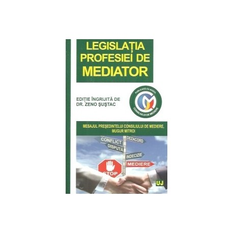 Legislatia profesiei de mediator -