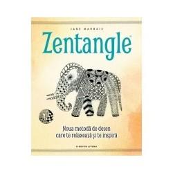 Zentangle - Noua metoda de desen care te relaxeaza si te inspira - Jane Marbaix