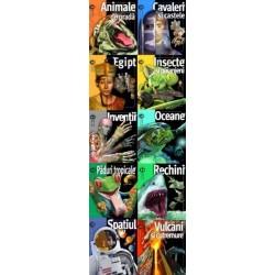 Set enciclopedii Colectia Insiders - 10 carti - Weldon Owen