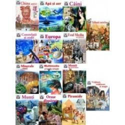 Set enciclopedii Colectia Ce si Cum - 14 carti -
