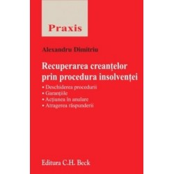 Recuperarea creantelor prin procedura insolventei - Alexandru-Paul Dimitriu