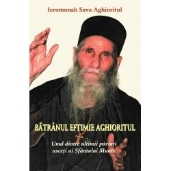Batranul Eftimie Aghioritul - Unul dintre ultimii parinti asceti ai Sfantului Munte - Sava Aghioritul