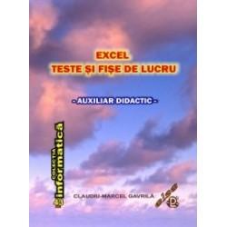 Excel - teste si fise de lucru - Claudiu Marcel Gavrila