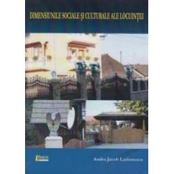 Dimensiunile sociale si culturale ale locuintei - Andra Jacob Larionescu