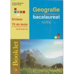 Geografie - Bacalaureat - Teste (editie 2012) - Angela Farcas, Cristina Moldovan