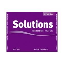 Solutions Intermediate Class Audio (3 CDs) Second Edition - Tim Falla, Paul A. Davies