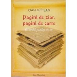 Pagini de ziar, pagini de carte. In varful penitei nr. 18 - Ioan Mititean