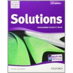 Solutions Intermediate Student Book Second Edition - Tim Falla, Paul A. Davies