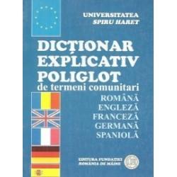 Dictionar explicativ poliglot de termeni comunitari - Emilia Bondrea