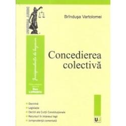 Concedierea colectiva - Brandusa Vartolomei