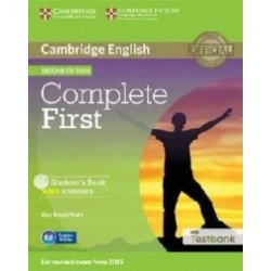 Cambridge English - Complete First Student's Book with Answers with CD-ROM with - Guy Brook Hart