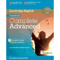 Cambridge English - Complete Advanced Student's Book Without Answers with CD-ROM - Guy Brook Hart