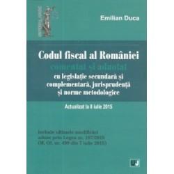 Codul fiscal al Romaniei comentat si adnotat cu legislatie secundara si complementara, jurisprudenta si norme metodologice - Em