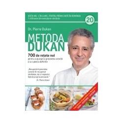 Metoda Dukan (Vol. 20) 700 de retete noi pentru a ajunge la greutatea corecta si a o pastra definitiv - Pierre Dukan