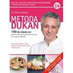 Metoda Dukan (Vol. 14) 700 de retete noi pentru a ajunge la greutatea corecta si a o pastra definitiv - Pierre Dukan