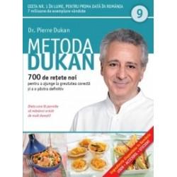 Metoda Dukan (Vol. 9) 700 de retete noi pentru a ajunge la greutatea corecta si a o pastra definitiv - Pierre Dukan