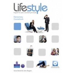 Lifestyle Elementary Coursebook and CD-Rom Pack - John Rogers, Irene Barrall
