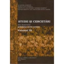 Studii si cercetari din domeniul stiintelor socio-umane. Volumul 28 - Ionut Isac, Calina Jugastru, Monica Albu