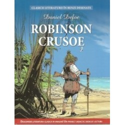 Benzi desenate - Robinson Crusoe - Daniel Defoe