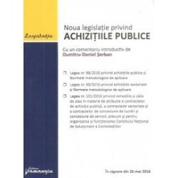Noua legislatie privind achizitiile publice, actualizat 9 iunie 2016 -