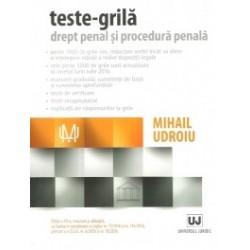 Teste-grila. Drept penal si procedura penala - Mihail Udroiu