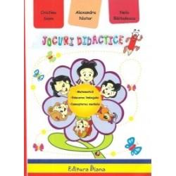 Jocuri didactice - Cristina Savu, Nela Barbulescu, Alexandra Nistor