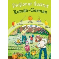 Dictionar ilustrat roman - german -