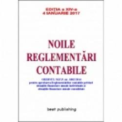 Noile reglementari contabile A5 (29,4cmX20,9cm) - editia a XIV-a - 4 ianuarie 2017 -