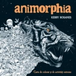 Animorphia - carte de colorat si de activitati extreme - Kerby Rosanes