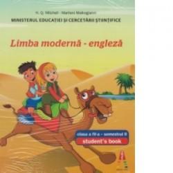 Limba moderna - engleza (student s book) clasa a IV-a, semestrul II - H. Q. Mitchell, Marileni Malkogianni