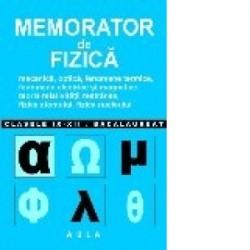 Memorator de Fizica. Liceu - Vasile Stef
