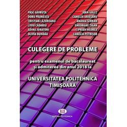 Culegere de probleme de matematica - 2018 - (Politehnica Timisoara)