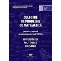 Culegere de probleme de matematica - 2019 - (Politehnica Timisoara)