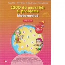 1200 de exercitii si probleme. Matematica. Clasa a II-a - Doina Cindea, Angelica Coman