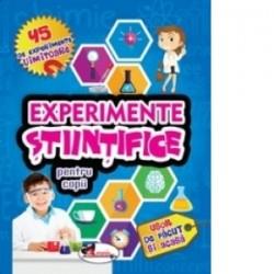 Experimente stiintifice pentru copii -